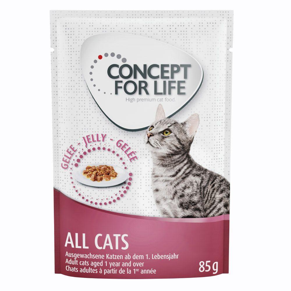 Concept for Life 24x85g All Cats en gelée Concept for Life - Pâtées pour Chat