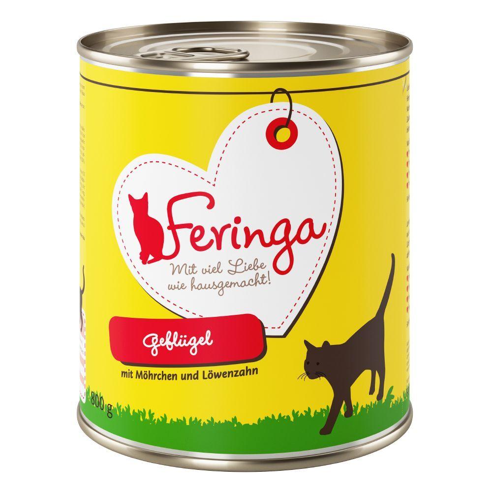 Feringa 12x800g Feringa Classic Meat Menu volaille - Pâtée pour chat