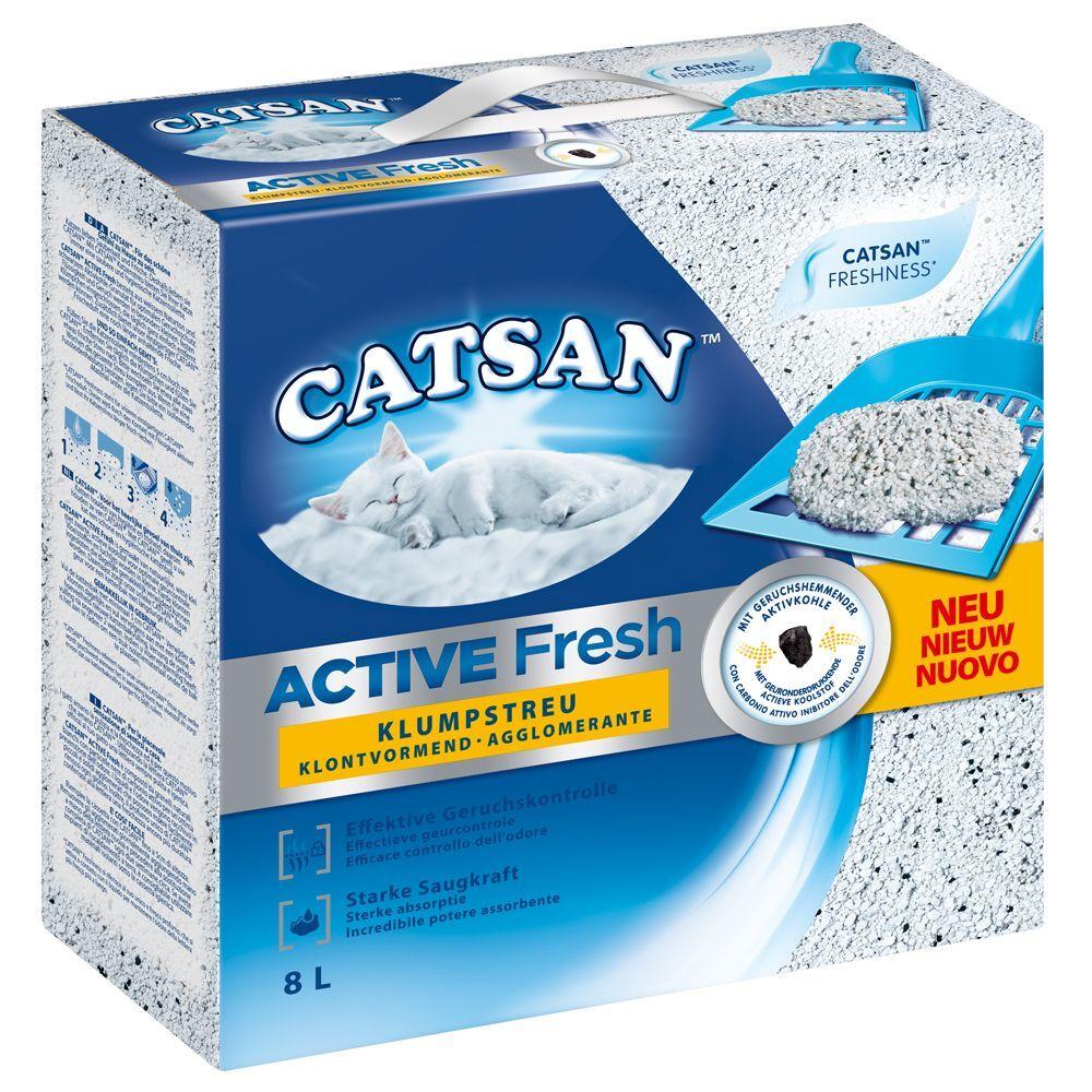 Catsan Litière Catsan, Active Fresh - lot % : 3 x 8 L
