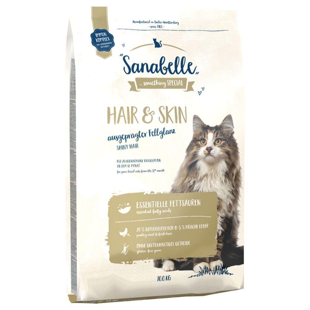 Sanabelle 2x10kg Hair & Skin Sanabelle - Croquettes pour Chat