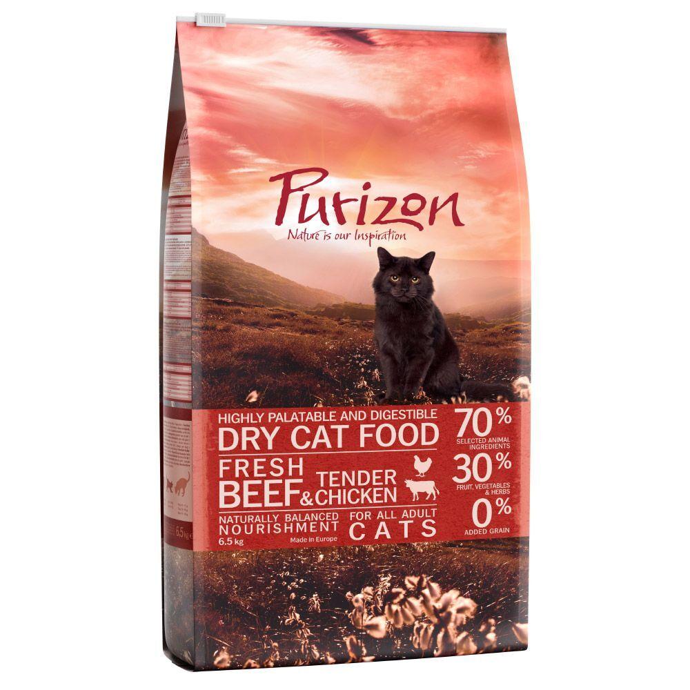 Purizon 2,5kg Purizon Adult, bœuf & poulet - Croquettes pour chat