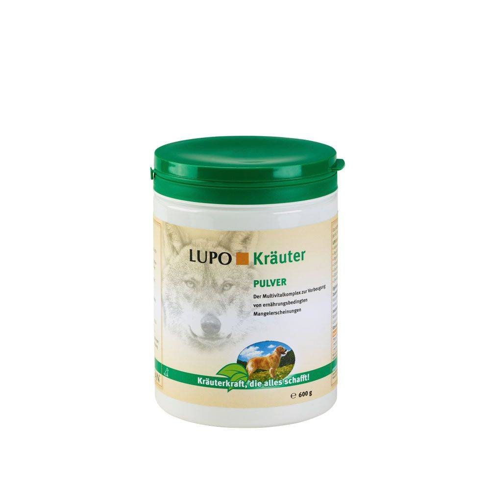Luposan Complément alimentaire LUPO Kräuter en poudre - lot % : 2 x 1 kg