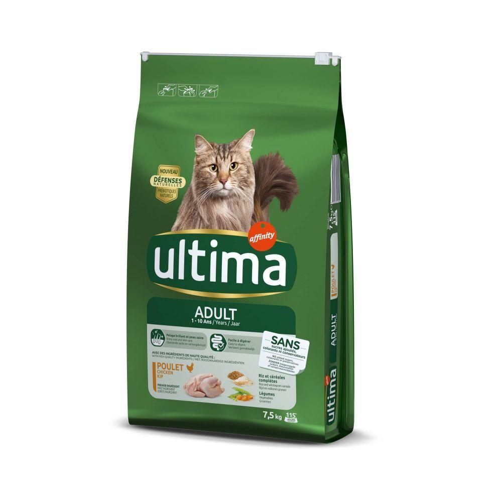 Affinity Ultima Ultima Adult, poulet & riz - lot % : 2 x 10 kg