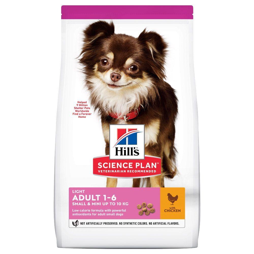 Hill's Science Plan Adult 1-6 Light Small & Mini poulet - 6 kg