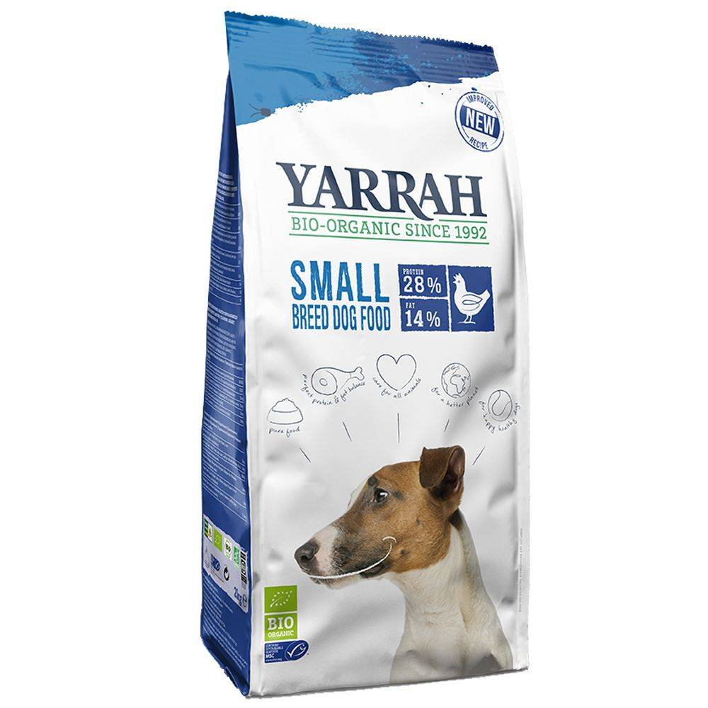 Yarrah Bio Small Breed poulet - lot % : 2 x 5 kg