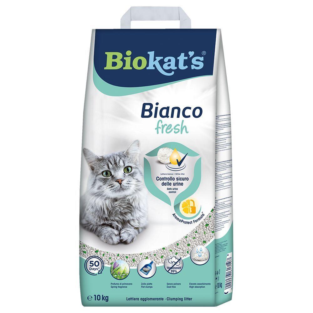 Biokat's Litière Biokat's Bianco Fresh - 10 kg