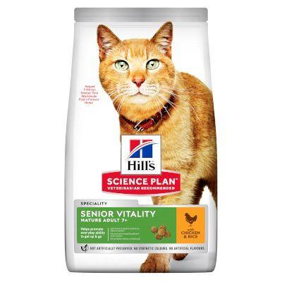 Hill's Science Plan 7kg Mature Adult Senior Vitality poulet, riz Hill's Science Plan -...