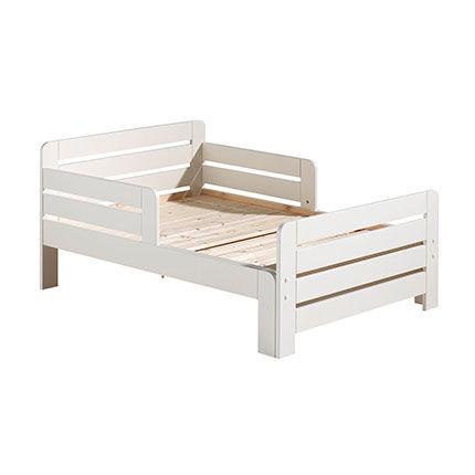Maisonetstyles Lit enfant évolutif 90x140/160/200 cm en pin blanc - JUMPY