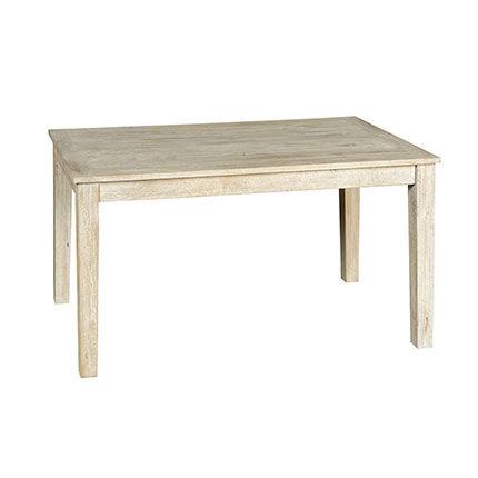 Maisonetstyles Table extensible 120 cm en manguier patiné - COTTAGE
