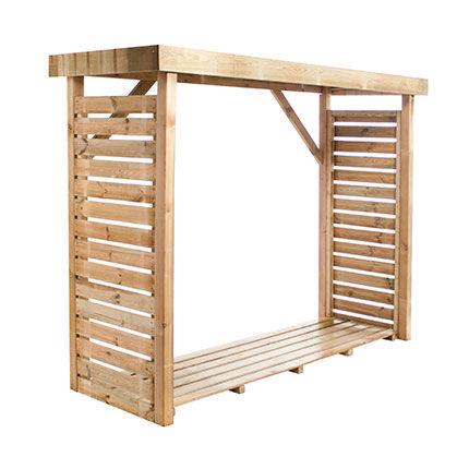 Maisonetstyles Bucher en bois 239x90x183 cm