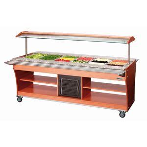 Bartscher Chariot buffet froid, 6x1/1GN, P150 - Publicité