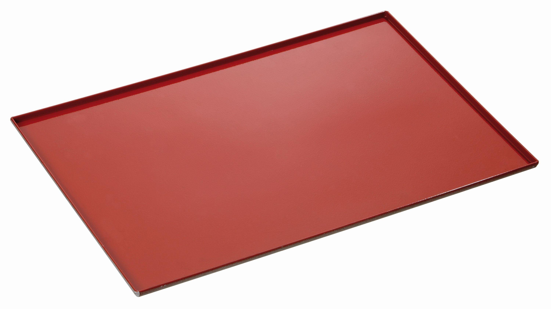 Bartscher Plaque avec revetement silicone a 4 bordures laterales epaisseur 1,5 mm