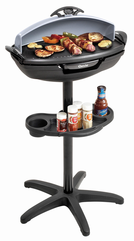 Bartscher Grill sur pieds et table barbecue