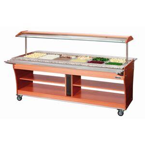 Bartscher Chariot buffet chaud 6x GN 1/1 180 - Publicité