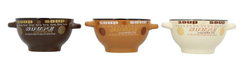 Lebrun Bol à soupe grès 55 cl RELAX
