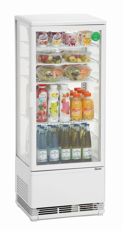Bartscher Mini vitrine refrigeree 98 L