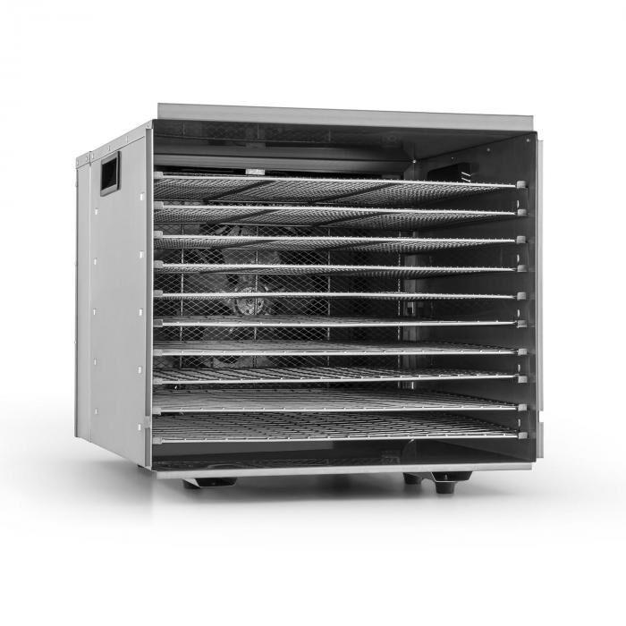Klarstein Fruit Jerky Pro 10 déshydrateur alimentaire 1000W 10 étages acier