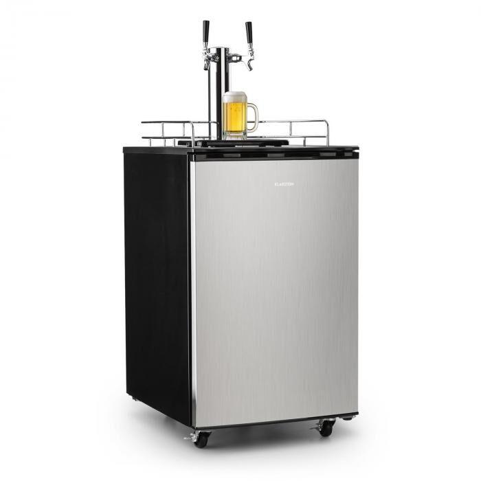 Klarstein Big Spender Double réfrigérateur pour fût à bière Kit complet 50 L