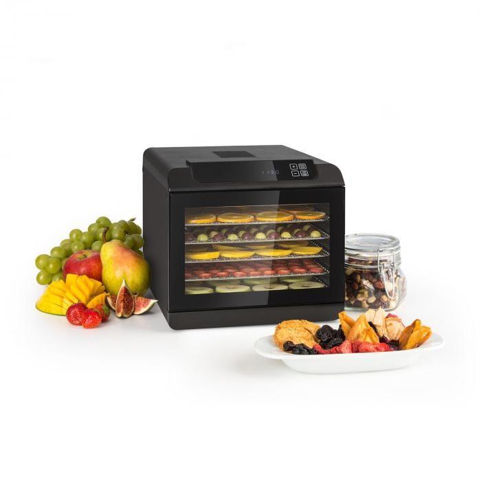 Klarstein Arizona Jerky Déshydrateur alimentaire 500W 35-70°C écran tactile numé