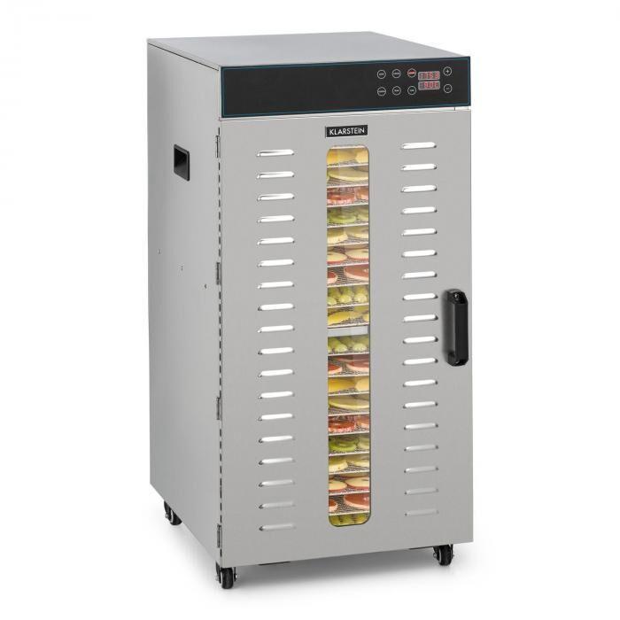 Klarstein Pro Master Jerky 300 Déshydrateur alimentaire 2000 W 40-90 ° C 24 h minute