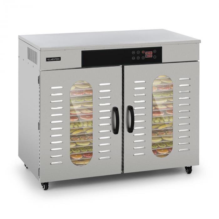 Klarstein Pro Master Jerky 500 Déshydrateur alimentaire 32 étages 3000W 40-90 °C - i
