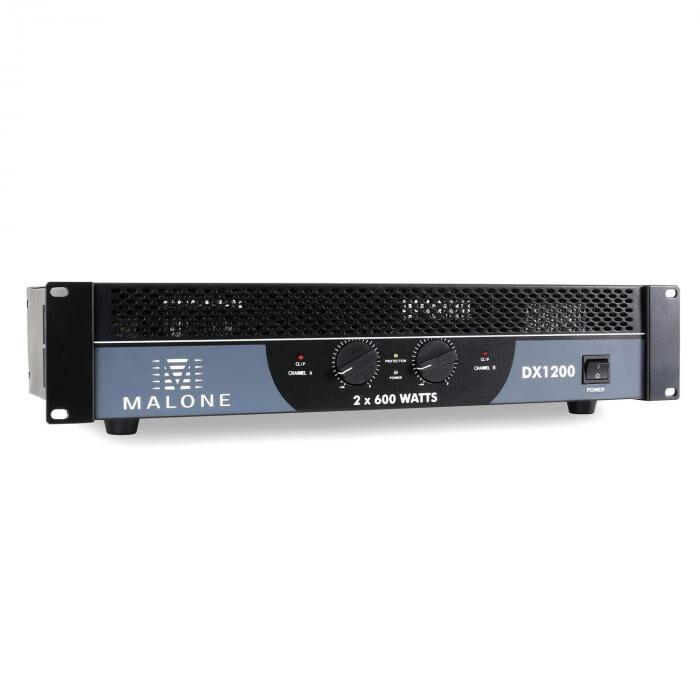 Malone DX1200 Ampli PA 1200W bri...