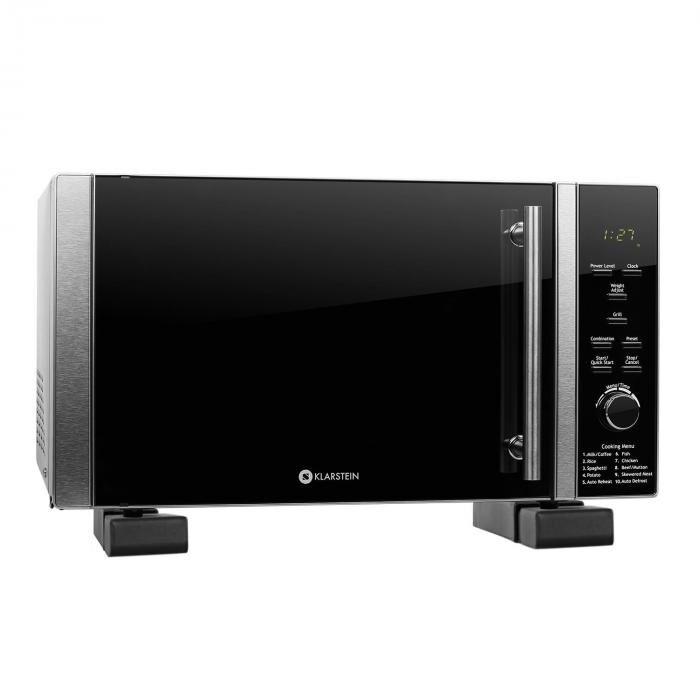 Klarstein Set Micro-ondes Luminance Prime 900W + support