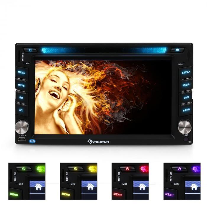 Auna MVD-480 Autoradio DVD USB S...