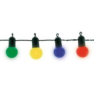 Blachere Illumination Guirlande lumineuse extérieur Blachere Illumination FETE-Guirlande LED d'extérieur 15 Ampoules L9m raccordable Multicolore - Publicité