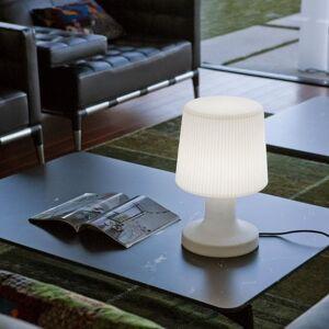 New Garden Lampe à poser extérieur New Garden CARMEN-Lampe à poser d'extérieur LED avec câble H45cm Blanc - Publicité