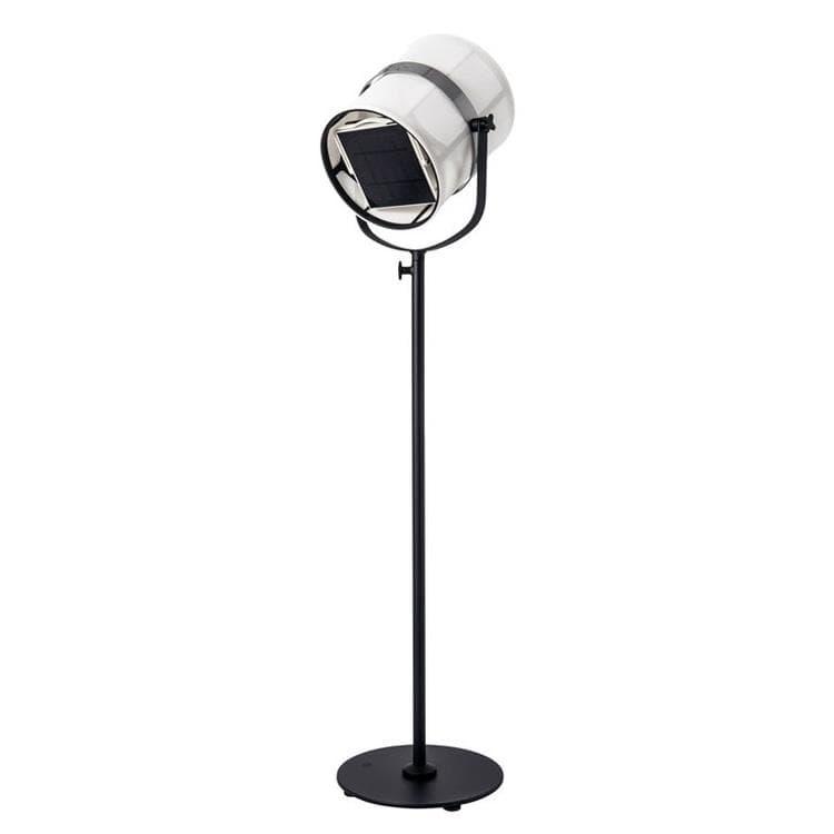 Maiori Lampadaire extérieur Maiori PARIS-Lampadaire d'extérieur LED solaire Aluminium/Textile outdoor H140-170cm Noir