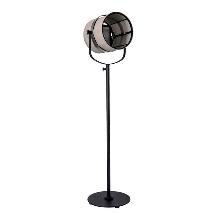 Maiori Lampadaire extérieur Maiori PARIS-Lampadaire d'extérieur LED solaire Aluminium/Textile outdoor H140-170cm Beige