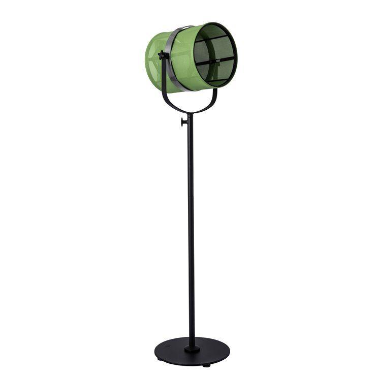 Maiori Lampadaire extérieur Maiori PARIS-Lampadaire d'extérieur LED solaire Aluminium/Textile outdoor H140-170cm Vert