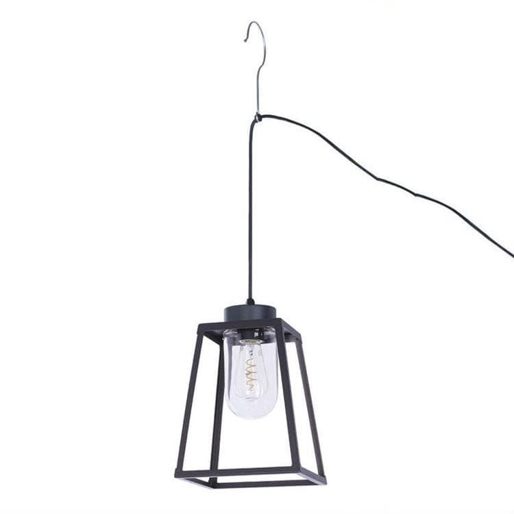 Roger Pradier® Lampe à poser extérieur Roger Pradier® LAMPIOK-Lampe nomade d'extérieur Métal/Verre H34cm Noir