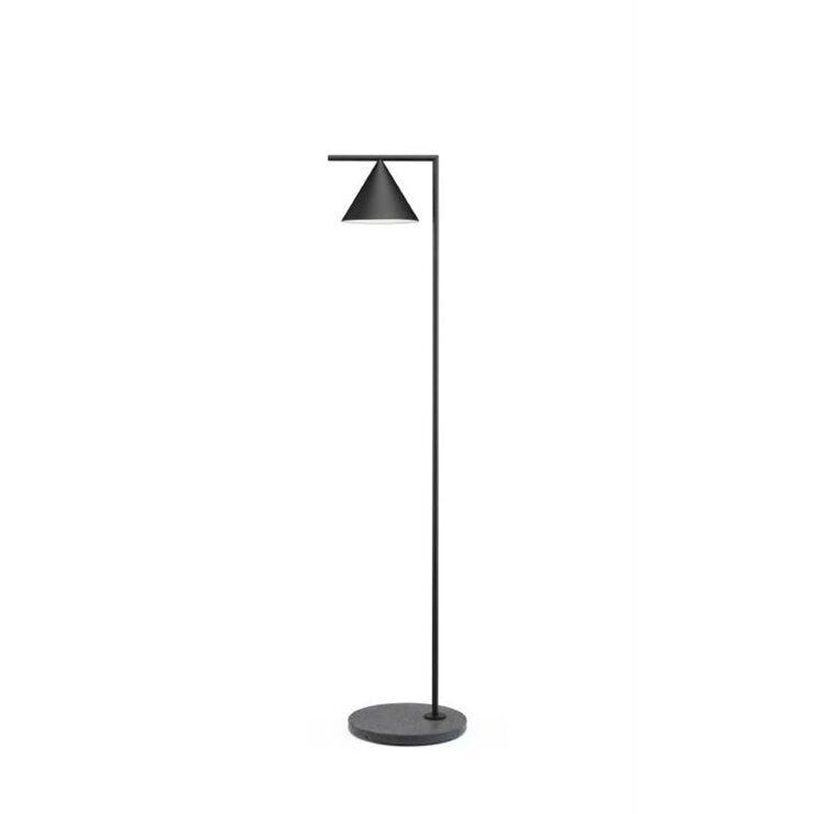 Flos Lampadaire extérieur Flos CAPTAIN FLINT OUT-Lampadaire d'extérieur LED avec variateur Métal/Pierre H163cm Noir