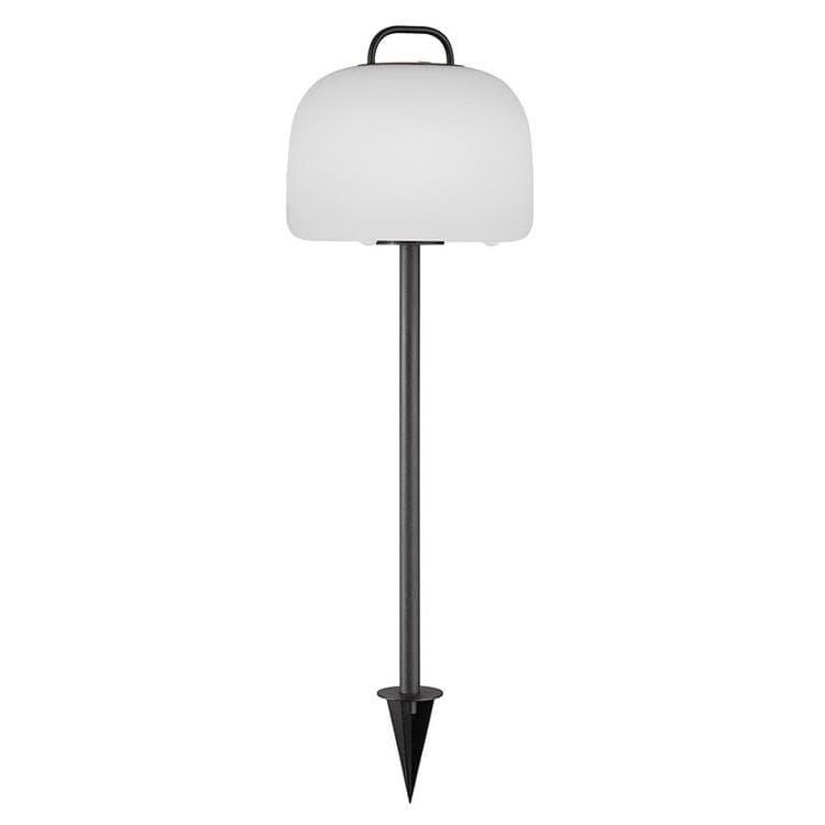 Nordlux Lampadaire extérieur Nordlux KETTLE-Lampadaire d'extérieur à planter Métal H83cm Noir