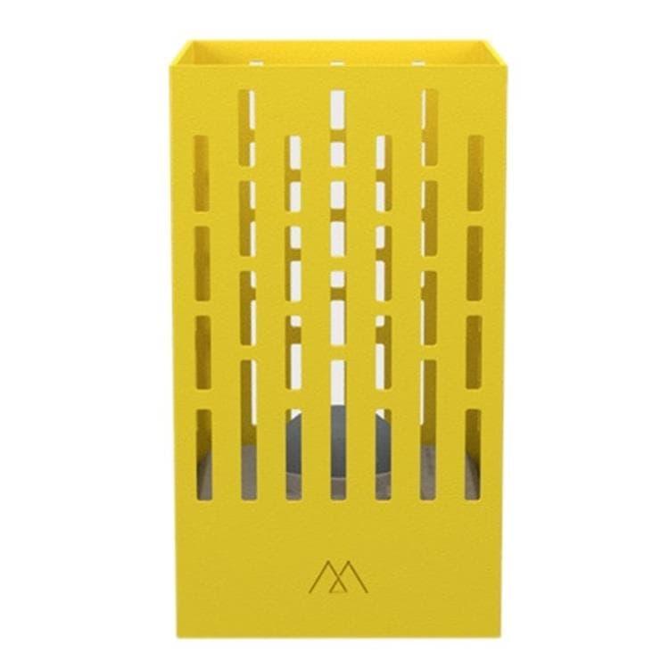 Maiori Applique murale extérieur Maiori POSE 04-Applique murale d'extérieur LED solaire Aluminium H18cm Jaune