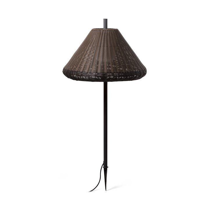 Faro Borne extérieur Faro SAÏGON-Lampe à planter d'Extérieur  Aluminium/Polyéthylène H100cm Marron