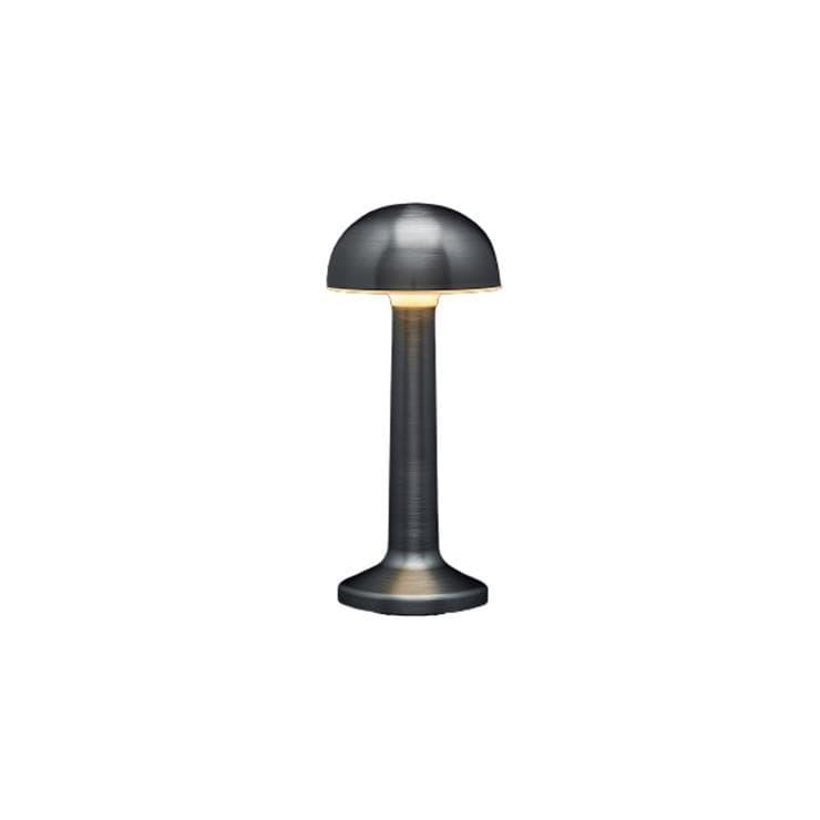 Imagilights Lampe à poser extérieur Imagilights MOMENT-Lampe baladeuse d'extérieur LED rechargeable Dôme H22,7cm Gris