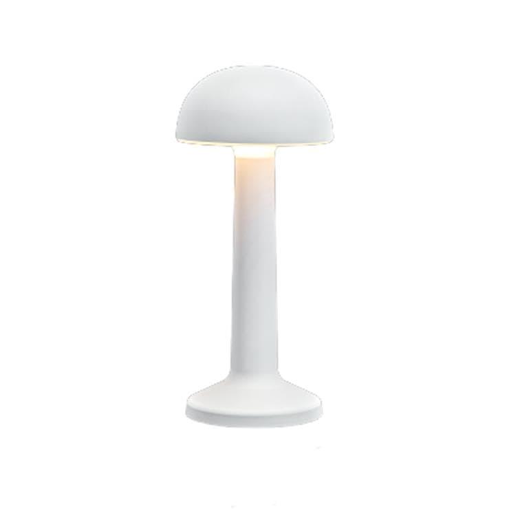 Imagilights Lampe à poser extérieur Imagilights MOMENT-Lampe baladeuse d'extérieur LED rechargeable Dôme H22,7cm Blanc