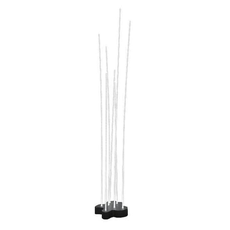 Artemide Lampadaire extérieur Artemide REEDS-Lampadaire d'extérieur LED 7 tiges H1,49m Transparent