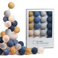 La Case de Cousin Paul Guirlande lumineuse La Case de Cousin Paul GRACELAND-Coffret Guirlande lumineuse 20 Boules L'Original L2,9m Bleu <br /><b>29.90 EUR</b> Lightonline