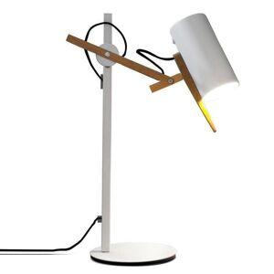 Marset Lampe à poser Marset SCANTLING-Lampe de bureau Bois H136cm Blanc - Publicité