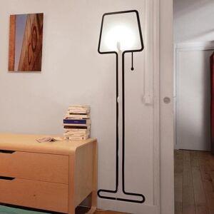 Pa Design Lampadaire Pa Design TALL-Applique 'lampadaire' H1,77m Noir - Publicité