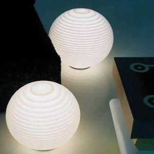 Rotaliana Lampe à poser Rotaliana FLOW-Lampe à poser avec Variateur H30cm Blanc - Publicité