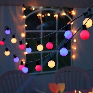 Best Season Guirlande lumineuse extérieur Best Season PARTY BALLS-Guirlande d'extérieur LED 20 Lumières L10,7m Vert