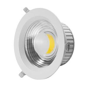 Lumihome Spot Lumihome COB-Spot encastrable orientable LED Métal 3000K 20W Ø19cm Blanc