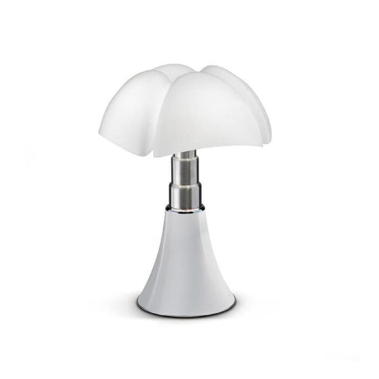 Martinelli Luce Lampe à poser Martinelli Luce MINI PIPISTRELLO CORD-LESS-Lampe Nomade LED H35cm Blanc