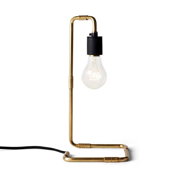 Menu Lampe à poser Menu READE-Lampe à poser H34cm Laiton