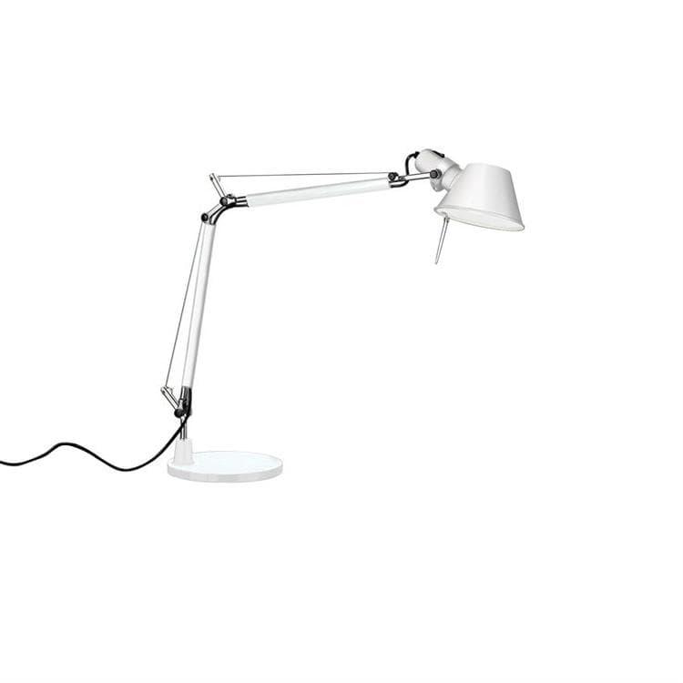 Artemide Lampe à poser Artemide TOLOMEO MINI-Lampe de bureau H54cm Blanc